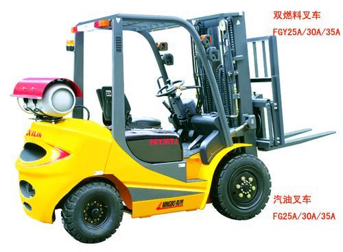 西林FG/FGY系列双燃料叉车高清图 - 外观