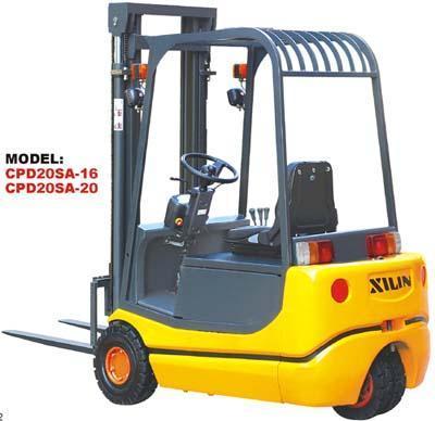 西林CPD10SA-10/CPD20SA-20三支点蓄电池平衡重式叉车高清图 - 外观