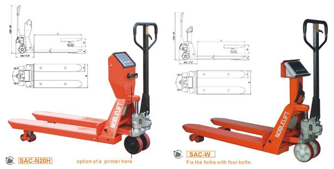 诺力SAC-N20/SAC-W20手动搬运车高清图 - 外观