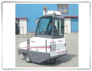 扫地王DULEVO 100型中型扫路车高清图 - 外观