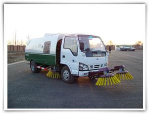 扫地王TSW5064TSL型大型扫路车高清图 - 外观