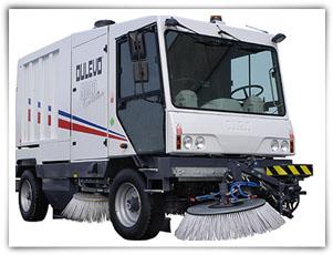 扫地王TSW5000CITY型大型扫路车高清图 - 外观