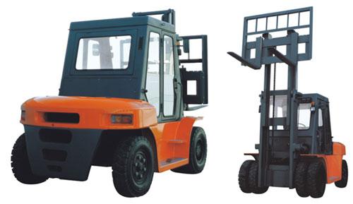 诺力CPCD50-70内燃叉车高清图 - 外观
