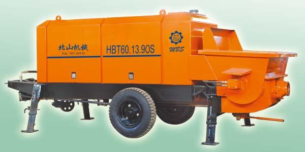 北山HBT60混凝土输送泵高清图 - 外观