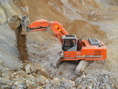 邦立CE750-7正铲液压挖掘机
