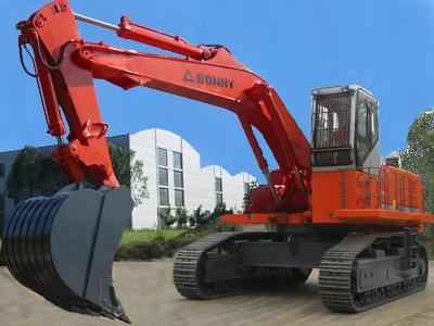 邦立CE750-7反铲液压挖掘机