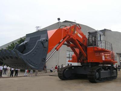 邦立CE1250-7正铲液压挖掘机