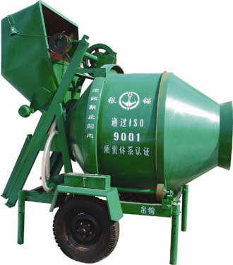 银锚JZC350锥型反转出料混凝土搅拌机