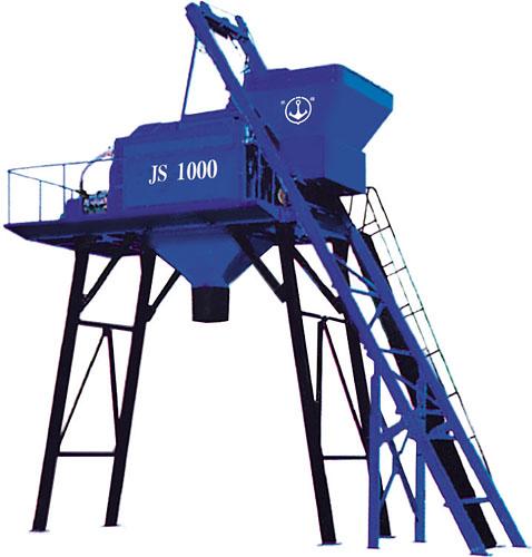 银锚JS1000B混凝土搅拌机高清图 - 外观