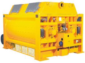 仕高玛MAW水工专用双卧轴混凝土搅拌机