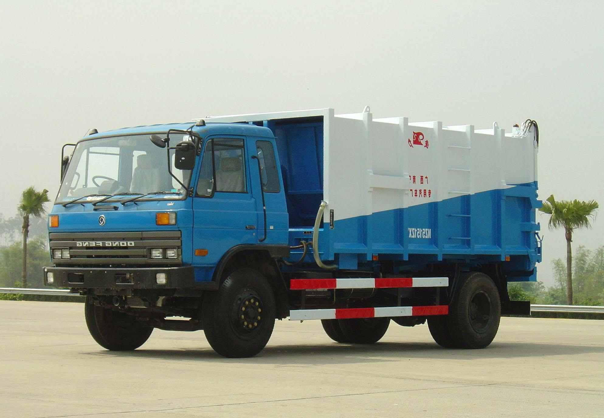 象力NZ5150ZXY车箱可卸式垃圾车高清图 - 外观