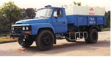 象力NZ5100ZXX车箱可卸式垃圾车高清图 - 外观