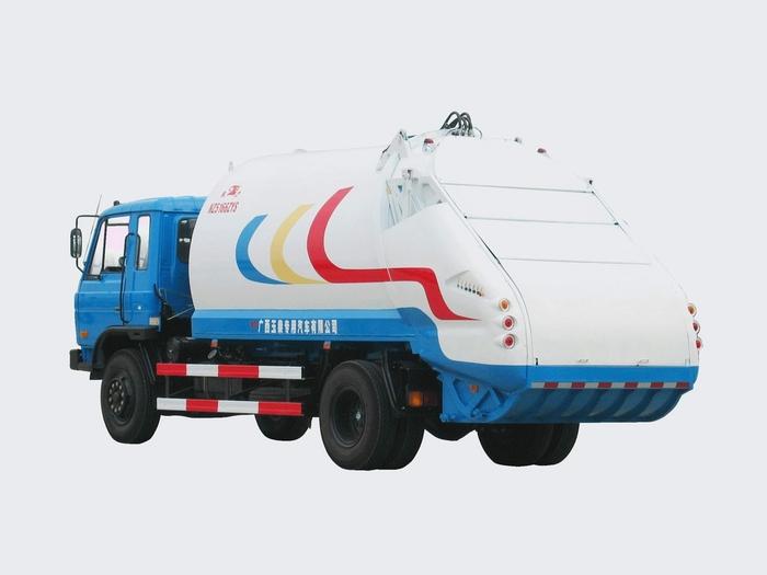 象力NZ5156ZYS型压缩式垃圾车高清图 - 外观