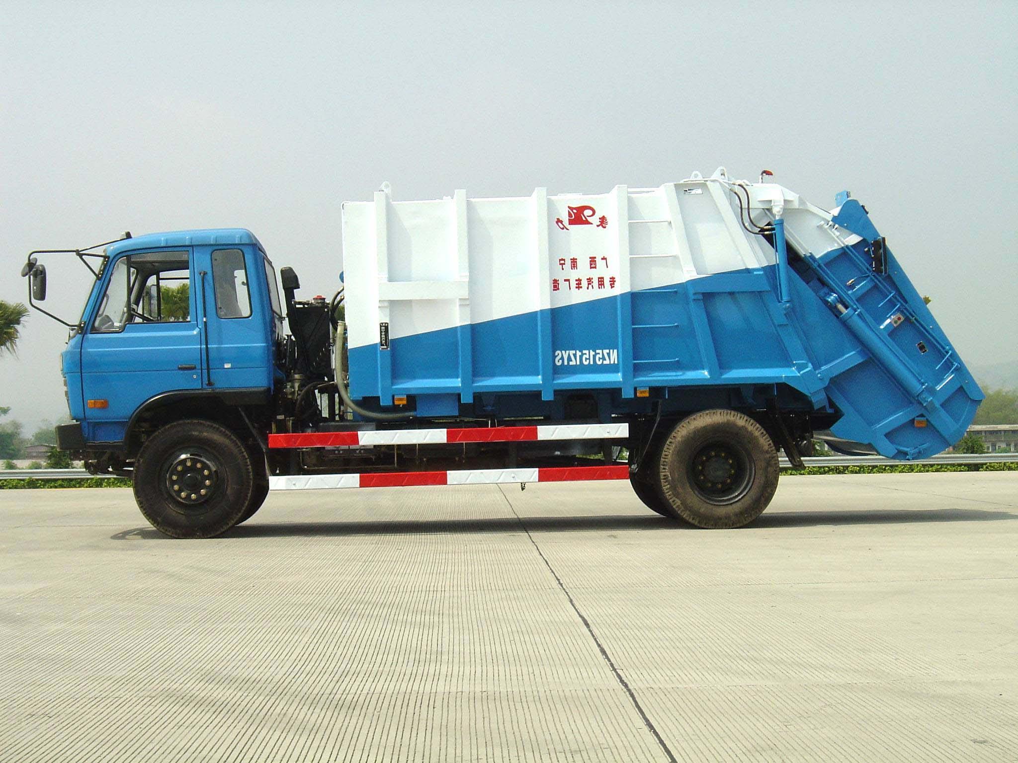 象力NZ5151ZYS压缩式垃圾车高清图 - 外观