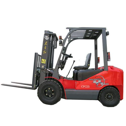 东方红CPC252.5吨内燃平衡重式叉车高清图 - 外观