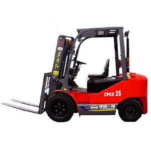 东方红CPCD252.5吨内燃平衡重式叉车高清图 - 外观