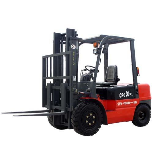 东方红CPC30F13吨内燃平衡重式叉车高清图 - 外观