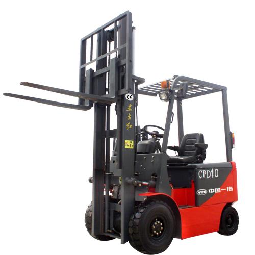 东方红CPD101吨电动平衡重式叉车高清图 - 外观