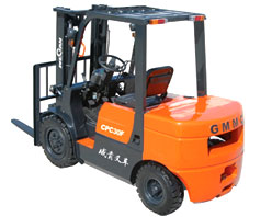 威肯3吨机械、液力内燃平衡重式叉车高清图 - 外观