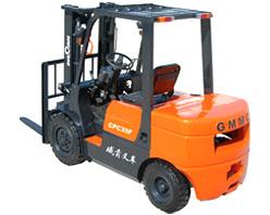 威肯3.5吨机械、液力内燃平衡重式叉车高清图 - 外观