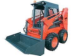 威肯GM650滑移装载机高清图 - 外观
