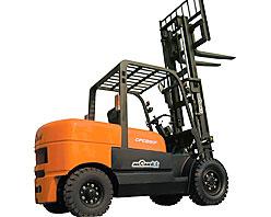 威肯5吨液力内燃平衡重式叉车高清图 - 外观