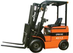 威肯1.5吨电动平衡重式叉车高清图 - 外观