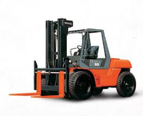 丰田60-5FD80内燃平衡重式叉车高清图 - 外观