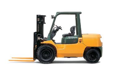 丰田7FDA50内燃平衡重式叉车高清图 - 外观
