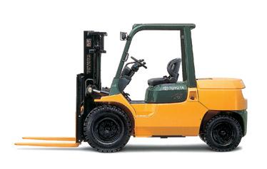 丰田7FG35-45内燃平衡重式叉车高清图 - 外观