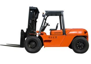 靖江8-10吨内燃叉车高清图 - 外观