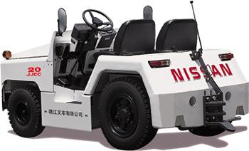 靖江2-3吨NISSAN系列基本型KM内燃牵引车高清图 - 外观