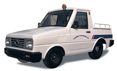 靖江2-3吨NISSAN系列斗驾型KM内燃牵引车高清图 - 外观