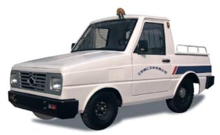 靖江2-3吨NISSAN系列斗驾型KM内燃牵引车