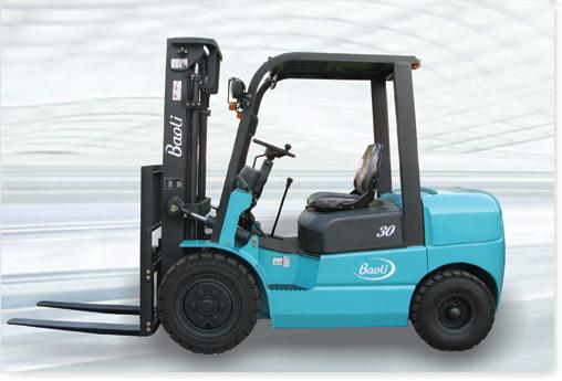 宝骊S系列CPC(D)30内燃平衡重式叉车高清图 - 外观