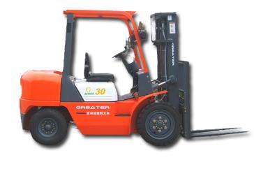 格瑞特CPC30/CPCD30平衡重式内燃叉车高清图 - 外观