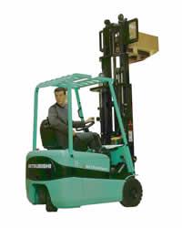 三菱FB10-15KRT|FB KRT1.0~1.5吨三轮电动叉车高清图 - 外观
