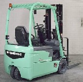 三菱FB16-20NT|FB NT1.6~2.0吨三轮电动叉车高清图 - 外观