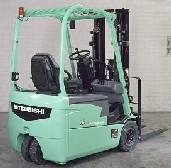 三菱FB16-20NT FB NT1.6~2.0吨三轮电动叉车高清图 - 外观