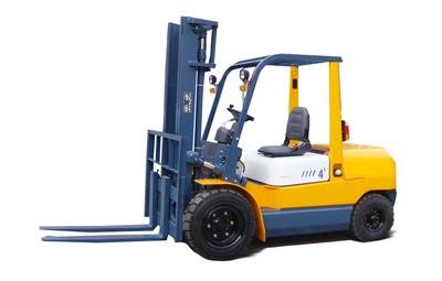 万力4吨内燃叉车高清图 - 外观