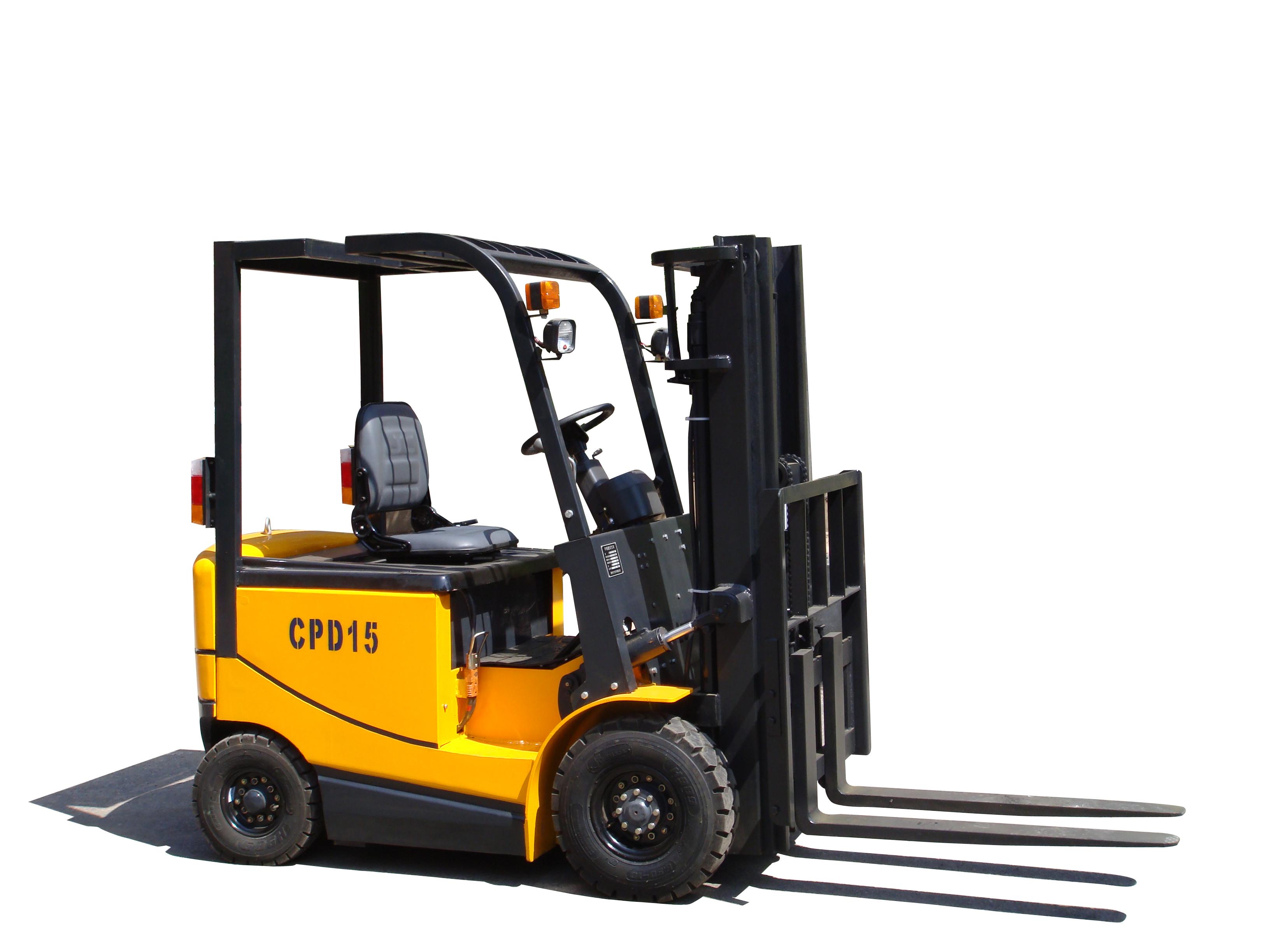 万力1.5 吨电动叉车高清图 - 外观