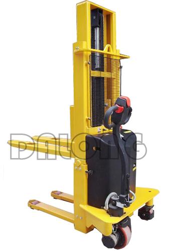 梅狮CDD1.0H简易型全电动堆垛车高清图 - 外观