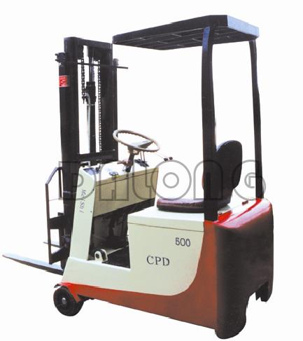 梅狮CPD5SZ轻小型平衡重座式全电动叉车高清图 - 外观