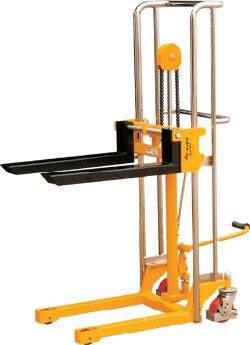 虎力PJ型手动液压堆高车高清图 - 外观