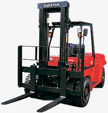 依格曼ECPCD60A内燃平衡重叉车高清图 - 外观