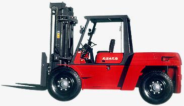 依格曼ECPCD100A内燃平衡重叉车高清图 - 外观