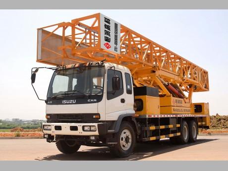 恒润高科HHR5250JQJ16(16m五十铃)型桥梁检测作业车高清图 - 外观