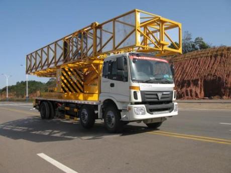 恒润高科HHR5250JQJ12型桥梁检测车高清图 - 外观