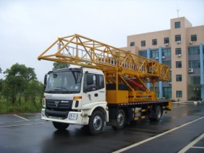 恒润高科HHR5251JQJ08(8m)型桥梁检测作业车高清图 - 外观