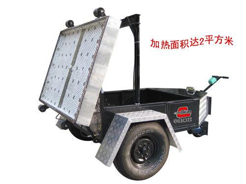 易山重工CLYJ-TA2000拖挂自走型热再生修补机